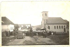 Sväté misie rok 1948.