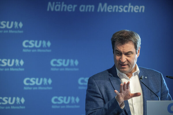 Šéf CSU Markus Söder.