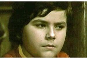 Karol Polák mladší ako detská hviezda.
