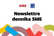Newslettre denníka SME