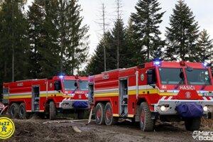 Požiar v KysuckomLieskovci