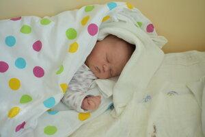 Michaela Agnetová (4410 g, 52 cm) sa narodila 21. marca Kataríne a Ľubošovi z Piešťan.