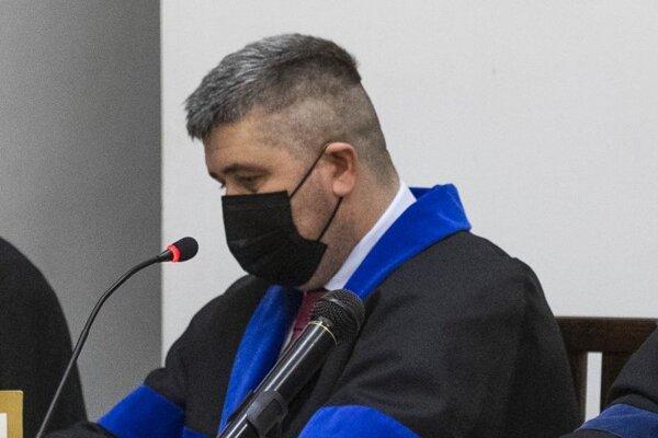 Michal Mandzák, obhajca obvineného Petra Brhela.
