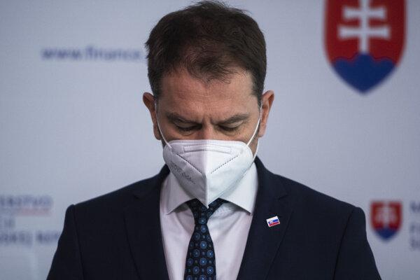 Minister financií Igor Matovič (OĽaNO).