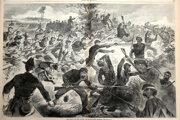 O americkej občianskej vojne dramaticky písali v bratislavských i svetových novinách. Bodákový útok, tak ako ho vnímali čitatelia newyorského magazínu Harper´s Weekly.