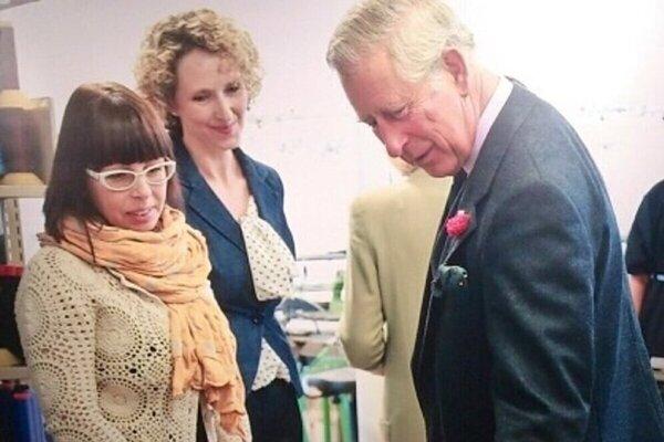 Sylviinu prácu obdivoval i britský princ Charles.