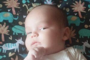 Róbert Križan (4400 g a 53 cm)sa narodil 4. marca v levickej nemocnici rodičom Kataríne a Róbertovi zo Šiah. Doma sa neho tešila sestrička Viktória (8 rokov).