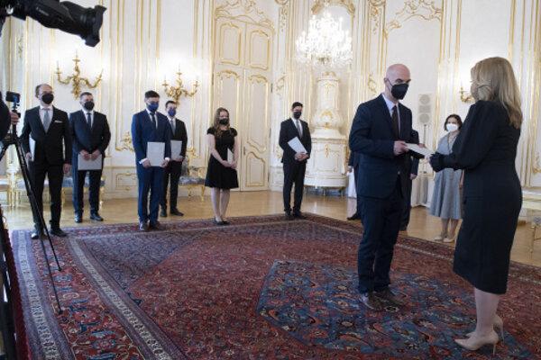 Prezidentka Zuzana Čaputová vymenovala sudcov všeobecných súdov.