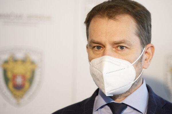 Podpredseda vlády SR a minister financií SR Igor Matovič (OĽaNO).