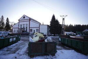 Zberný dvor na Bajkalskej ulici.