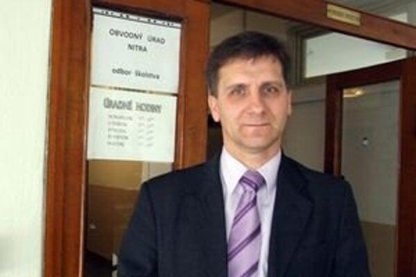Bývalý prednosta krajského školského úradu a súčasný vedúci odboru školstva na obvodnom úrade Miplan Galaba.