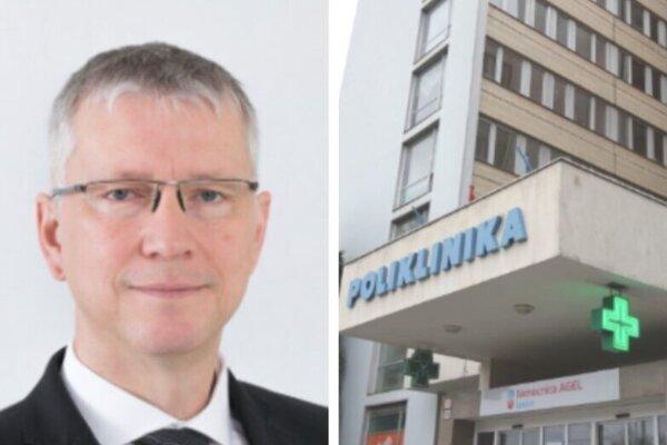Riaditeľ levickej nemocnice MUDr. Ján Belanský.