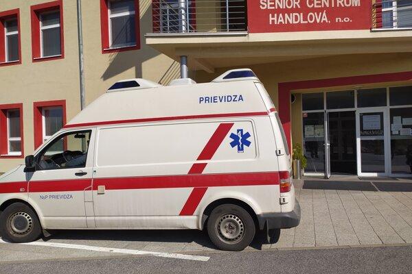 Do zariadenia prišla mobilná vakcinačná jednotka.