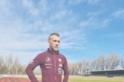 Gabriel Švajda na štadióne AC Nové Zámky