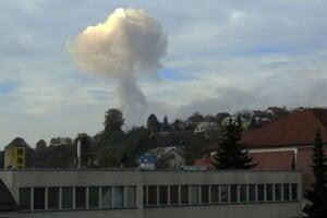 Výbuch muničného skladu vo Vrběticiach.