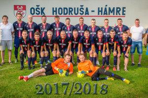 OŠK Hodruša - Hámre ešte v sezóne 2017/18.