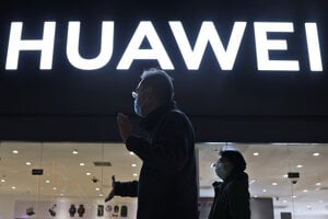 Huawei - ilustračná fotografia.