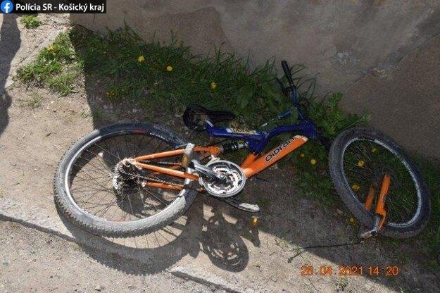 Nehoda s účasťou mladého cyklistu sa stala aj v Moldave nad Bodvou.