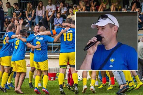 Ivan Varga je symbolom Jelenca, ľudia tlieskali futbalistom, o ktorých sa príkladne staral, a teraz si pochvaľujú, ako dedina napreduje pod jeho starostovským vedením.