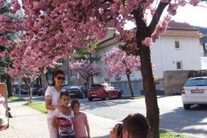 Peter fotí manželku a deťmi.
