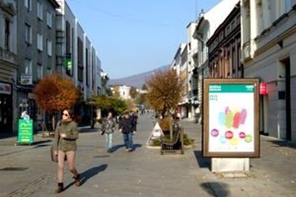 Radnica chce tento rok obnoviť mobiliár v Starom meste.