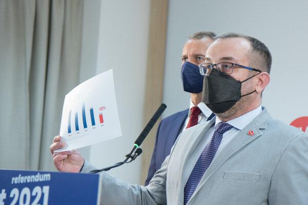 Poslanec NR SR a člen strany HlasRóbert Puci.