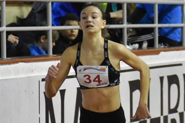 Stálica novozámockej atletiky Rebeka Žibritová.