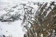 Talianske Giro je známe náročnnými horskými etapami. Vlani na jeseň šliapali pretekári cez priesmyk Passo dello Stelvio (2757 m).