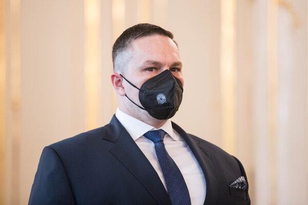 Nový riaditeľ Slovenskej informačnej služby (SIS) Michal Aláč.