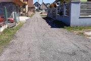 Opravená cesta v Oravskej Porube.