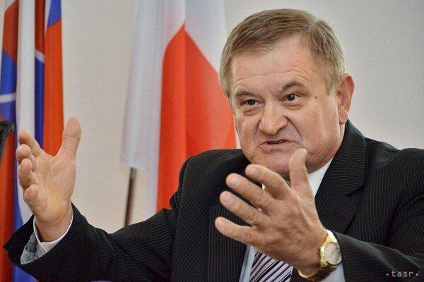 Predseda NSK Milan Belica.