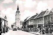 Terajšia Hlavná ulica v 50. rokoch.
