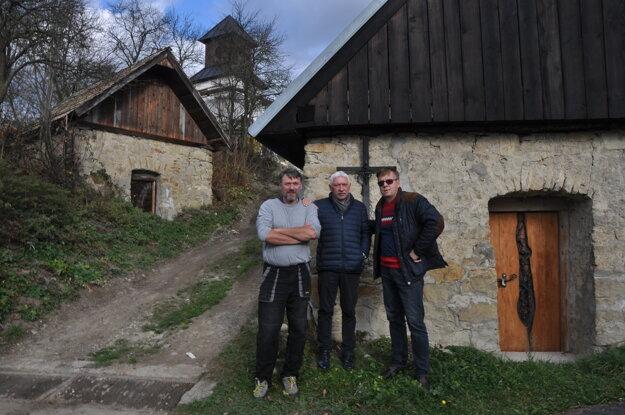 Pivničky v obci Svederník