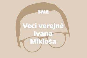 Veci verejné Ivana Mikloša.