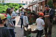 VPonitrianskom múzeu sa deti dozvedeli odrevinách, reštaurovaní iarcheológii.