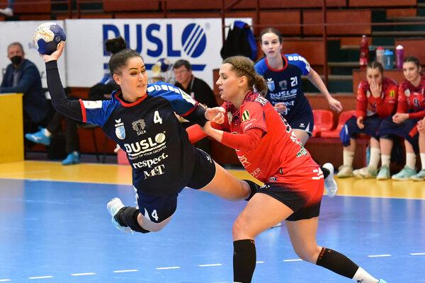 Zakončuje skúsená Šalianka Nikola Rácková.