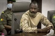 Bývalý vodca vojenskej junty v Mali Assimi Goita.