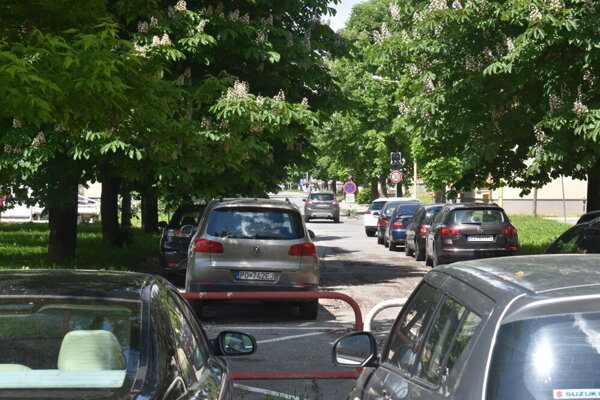 Parkovanie v Prešove.