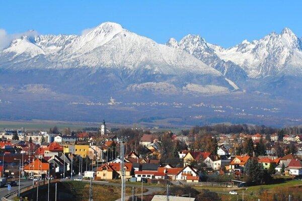 Mesto Poprad.