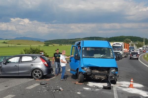 Na mieste dopravnej nehody