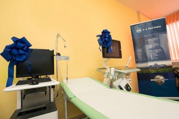 Nový ultrazvukový prístroj v košickej univerzitnej nemocnici.