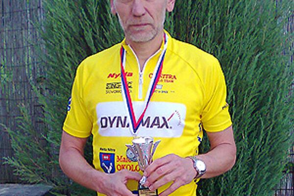 František Červenák získal striebro na majstrovstvách Slovenska v duatlone.