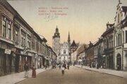 Alžbetina ulica v minulosti vystriedala viacero názvov.