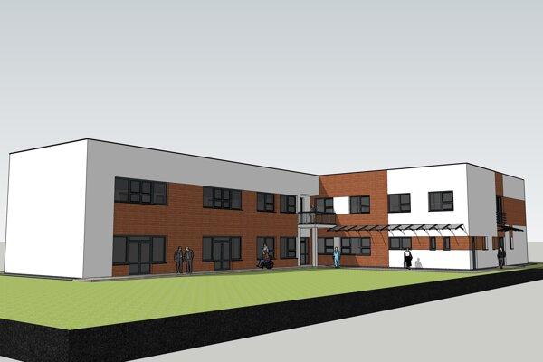 Takto bude vyzerať nové  Centrum sociálnych služieb na Podháji.