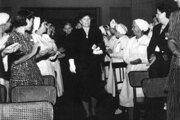 Alica Masaryková, dcéra prezidenta, sa angažovala hlavne v práci pre Československý Červený kríž.