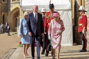 Bidenovci a kráľovná Alžbeta II.
