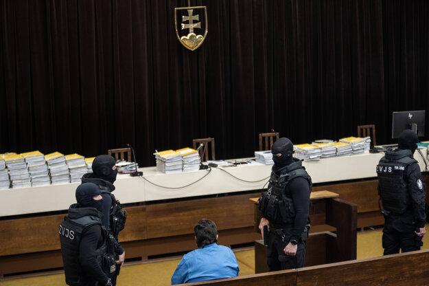 Marian Kočner v pojednávacej miestnosti Najvyššieho súdu.