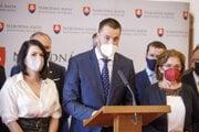 Marián Viskupič zo SaS. Strana naďalej trvá na daňovej brzde.