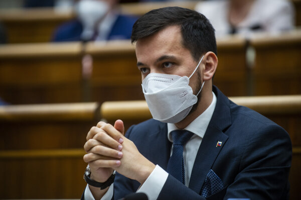 Poslanec NR SR Juraj Šeliga (Za ľudí).