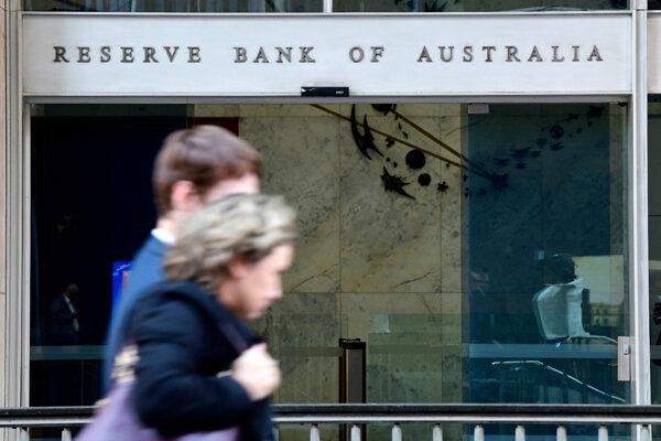 Austrálska centrálna banka.